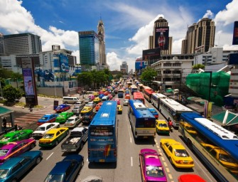 Bangkok: stad zonder verkeersregels