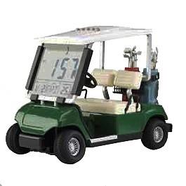 golfcart-wekker