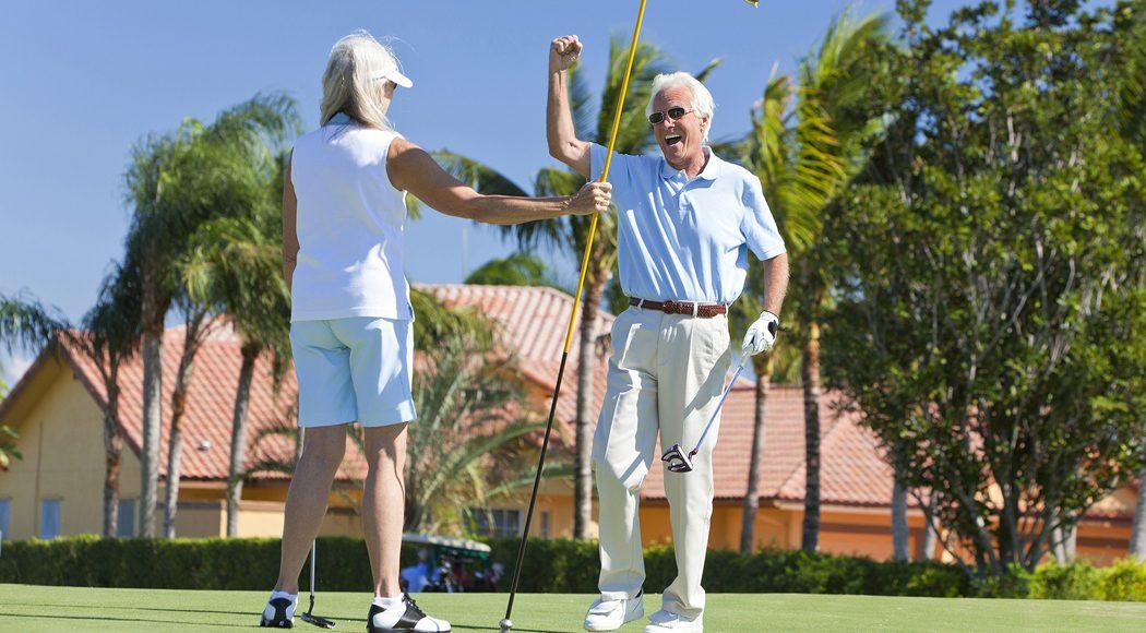 overwinteren aan de golfbaan