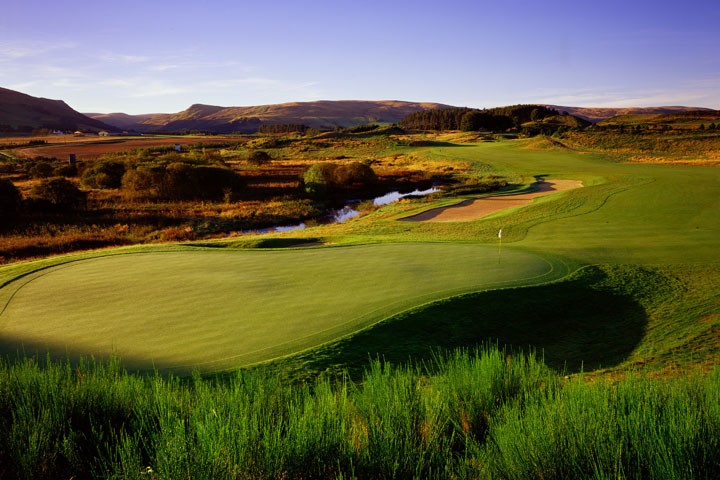 Pin High - Gleneagles