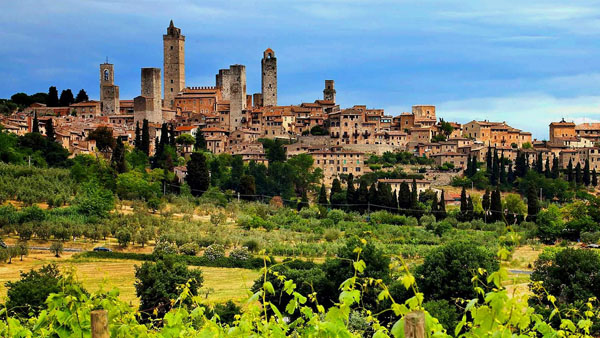 Pin High - San Gimignano