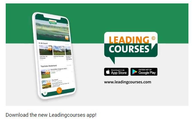 Leadingcourses golfbanen app