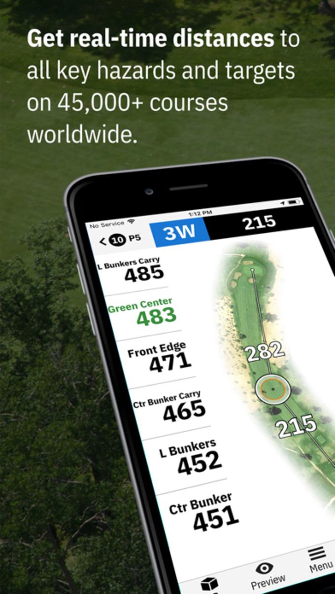 Pin High - Golfshot at Golfshot GPS app