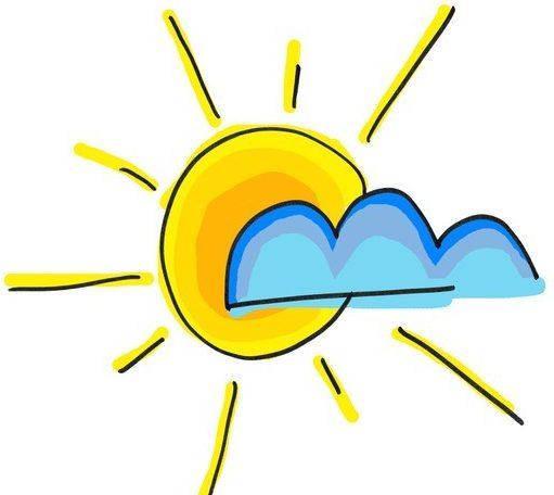 Pin High - zon achter wolk
